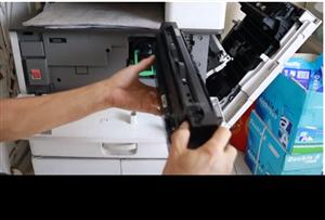 Đổ mực/thay trống máy photocopy ricoh MP 3351/3352/3353/3053